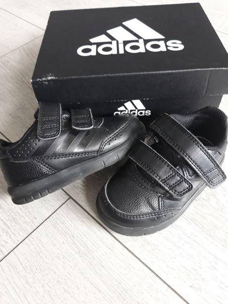 Adidasy chłopięce ADIDAS Idealne Czarne