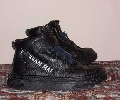 Ботинки, ботиночки осенние, демисезонные на мальчика, стелька 16,7 см