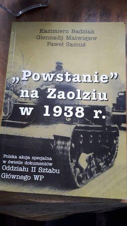 Powstanie na Zaolziu w 1938 roku - Badziak, Matwiejew, Samuś