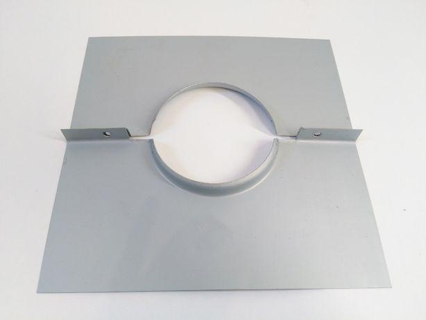 Placa de remate para tubo chaminé de salamandra ou forno lenha - Novo