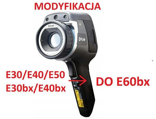 MODYFIKACJA kamer termowizyjnych do FLIR E60 z E30 E30bx E40 E50