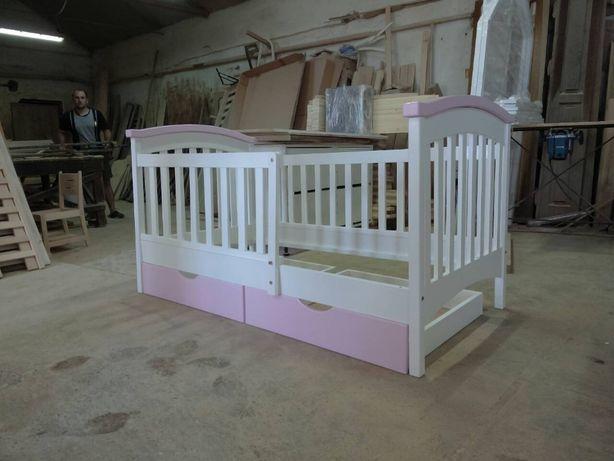 Детская кровать Карина-Премиум из бука. АКЦИЯ!!. Любой размер.