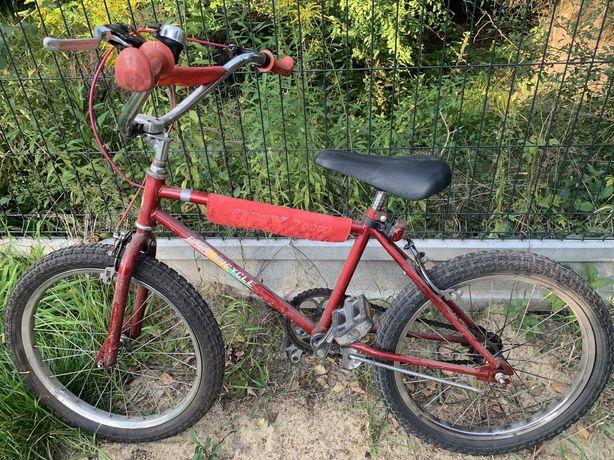 Bmx rower sprawny