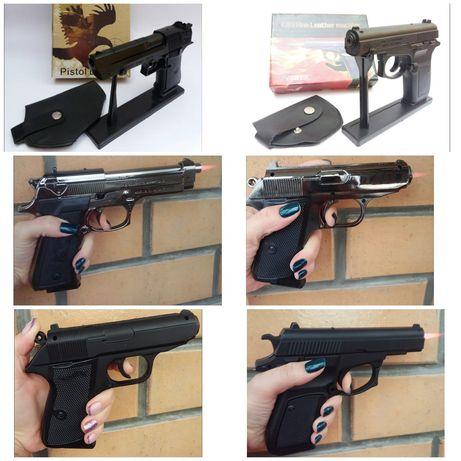 """Сувенир зажигалка """"Пистолет""""Вальтер,Беррета,Брауннинг,Десерт игл"""