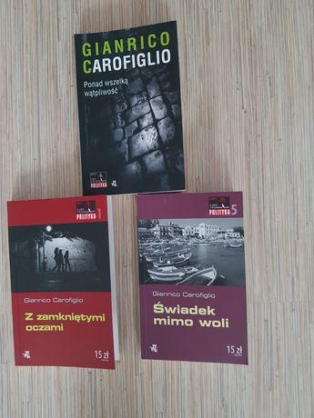 G. Carofiglio - zestaw 3 książek
