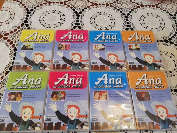 Coleção em DVD da famosa série de TV ANA DOS CABELOS RUIVOS
