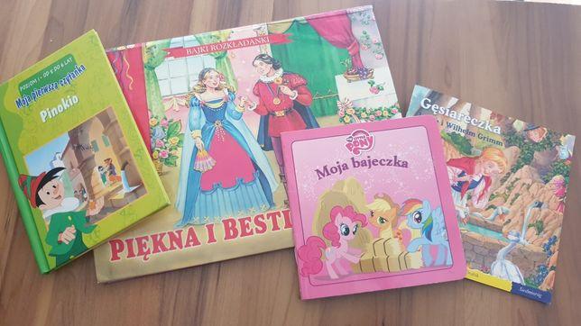 Książeczki dla przedszkolaka komplet 4 szt.