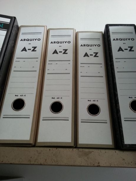 Capas de Arquivo A-Z