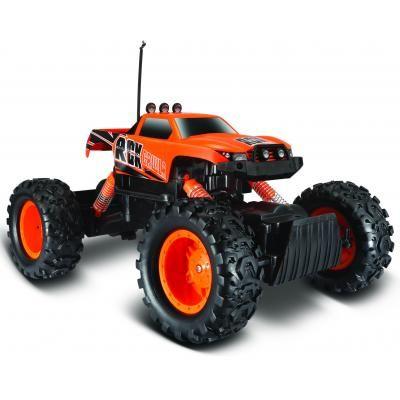 Радиоуправляемая игрушка Maisto Rock Crawler оранжевый