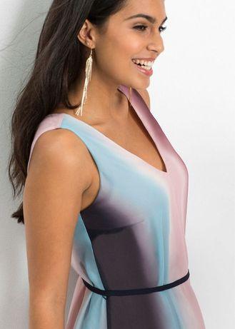 Rewelacyjna długa sukienka BODYFLIRT 40