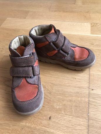 Ортопедичне взуття Ортекс Т-524, 24/16. Замш/шкіра