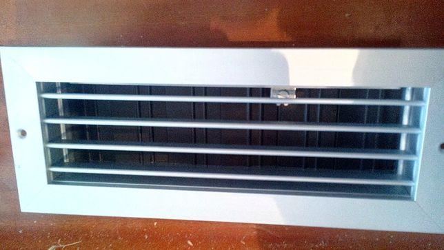 Grelha de ventilação em Alumínio Novas 300mm x 100mm MH+R