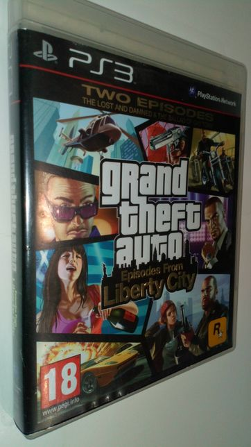 Gra PS3 Grand Theft Auto Episodes From Liberty CITY GTA Playstation 3