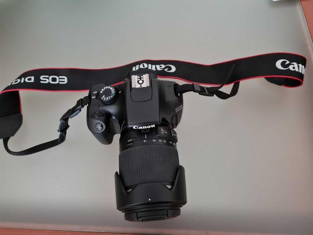 Canon EOS 1100D+Tamron 18-200