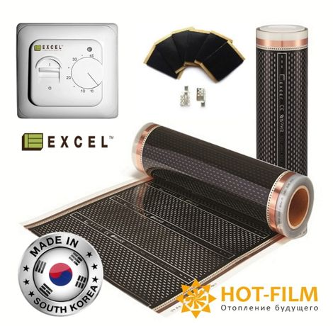 Комплект2м2 Электрический саморегулируемый теплый пол 4-гоПоколения