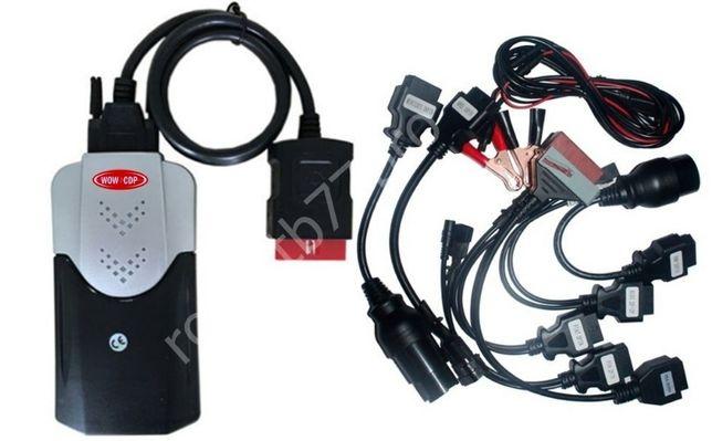 Interfejs VCI TCS do Autocom DS150E WoW Delphi Wuth +Adaptery osobowe