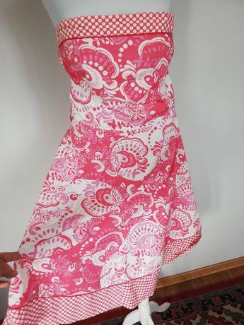 Sukienka pin up kropki kwiaty New look rozmiar l
