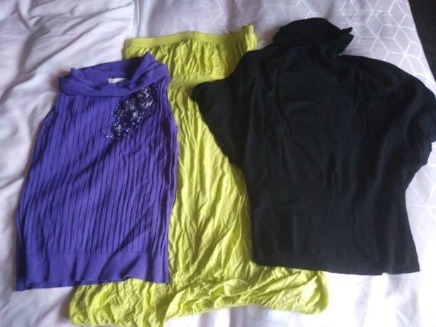 zestaw bluzki i sukienka r.36