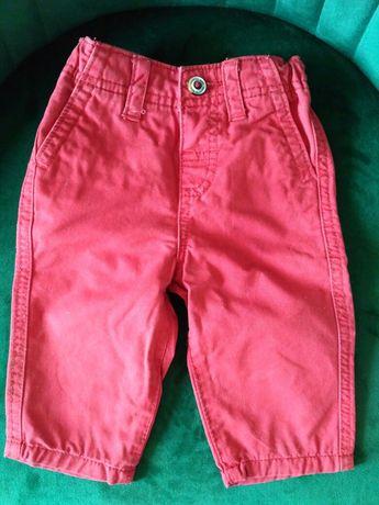 Spodnie materiałowe chłopięce r. 62