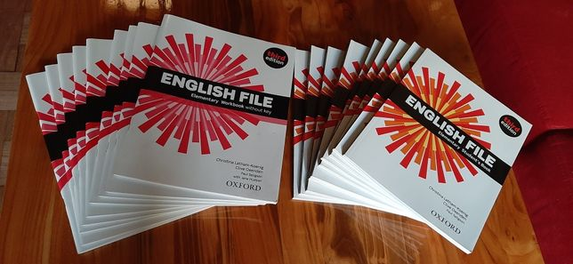 English File Elementary Third Edition komplet nowy (5kpl - 450zł)