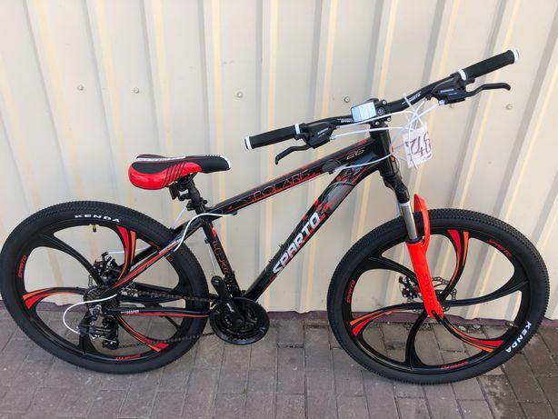 """Нові гірські велосипеди """"Sparto Polaris 26"""" Shimano литі Диски"""