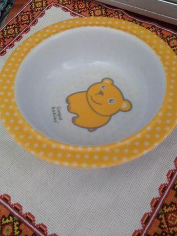 Дитяча тарілочка на присосці фірми Canpol Babies