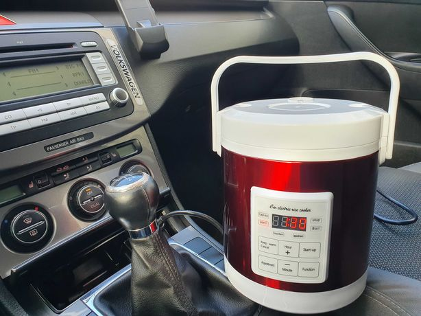 Мультиварка 1.6л 12-24V вольт для автомобиля,грузовика,фуры от прикур.