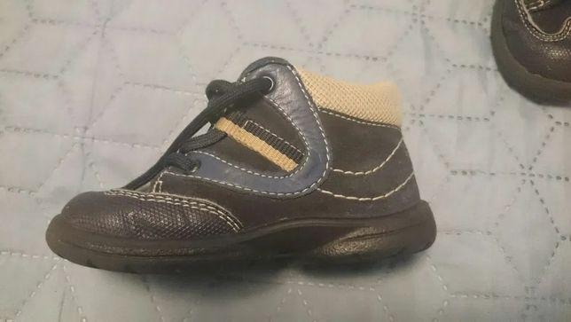 Buty skórzane dla dziecka, rozmiar 21