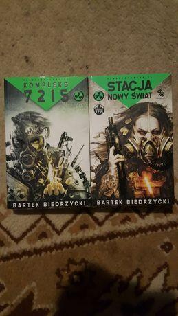Książki Bartek Biedrzyńcki Stacja Nowy Świat i Kompleks 7215