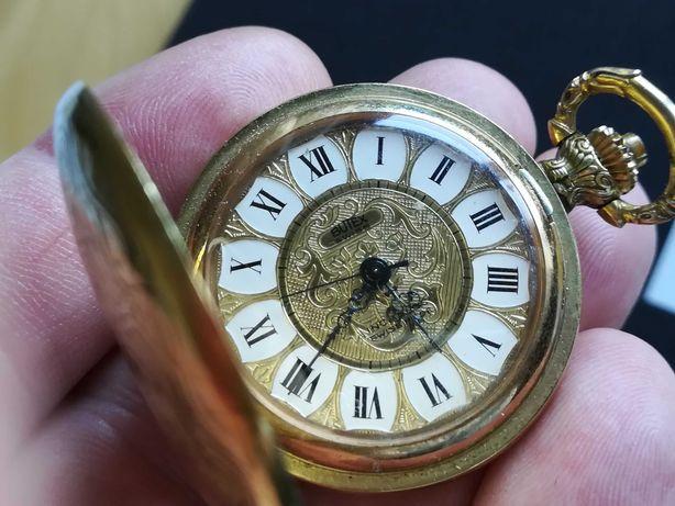 Relógio de bolso antigo BUTEX 36mm corda manual