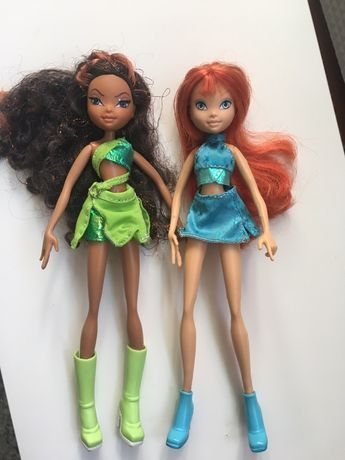 Winx Club lalki Layla i Bloom