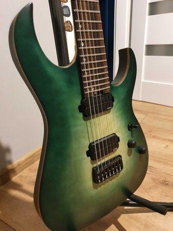 Harley Benton Amarok 7-strunowa + EMG, neck-thru