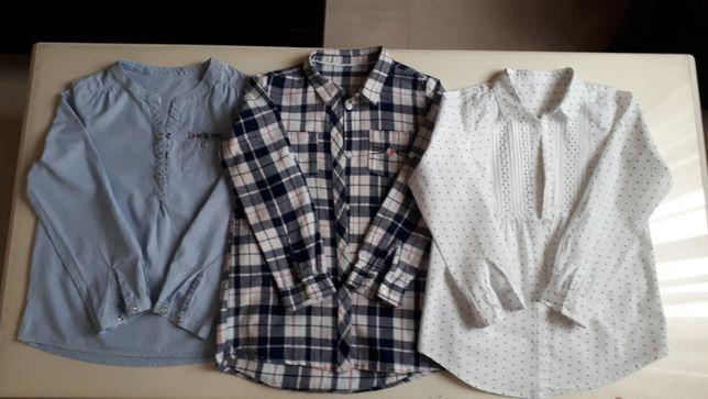 Ubrania dziewczęce rozmiar 128