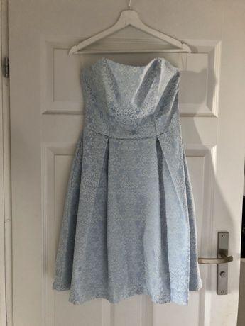 Sukienka SUGARFREE błękitna na wesele
