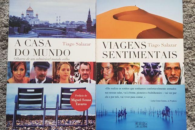 Livros viagens Tiago Salazar portes incluídos