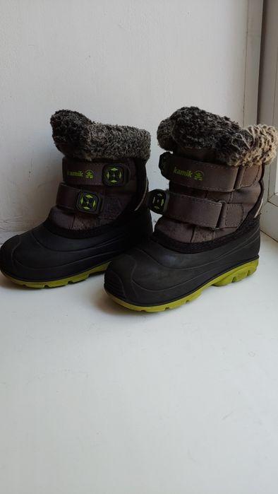 Ботинки б/у зима Kamik US8 Запорожье - изображение 1