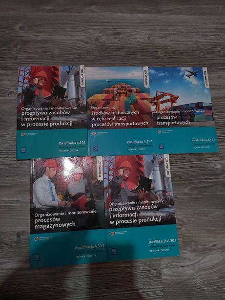 Technik logistyk kwalifikacja A.30 , A.31 , A.32, nowe książki!!
