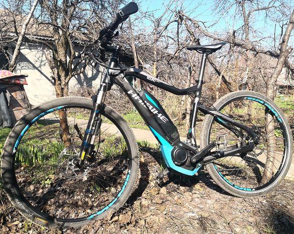 Электровелосипед E-bike Haibike Sduro Cross RC с чипом.