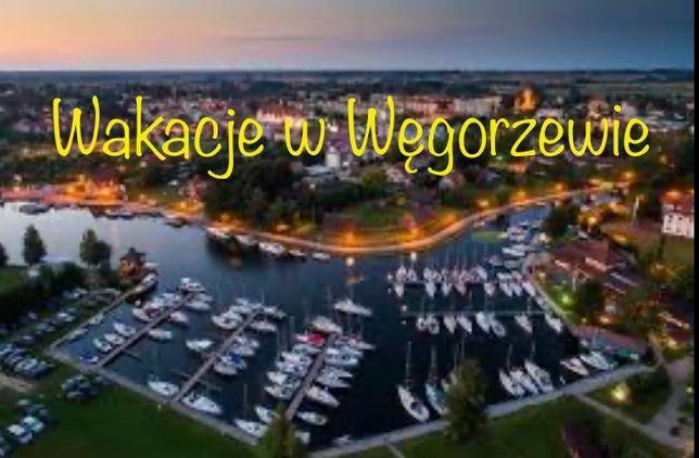 Apartament Zamkowa Węgorzewo Mazury noclegi wypoczynek nocleg 1-6 osób