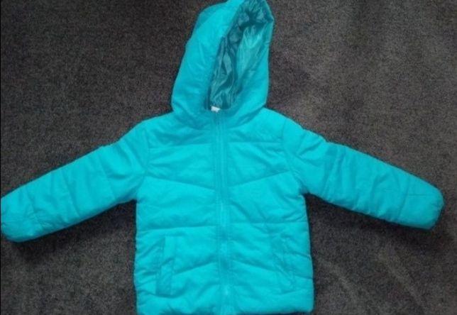 Ciepła kurtka zimowa r. 110