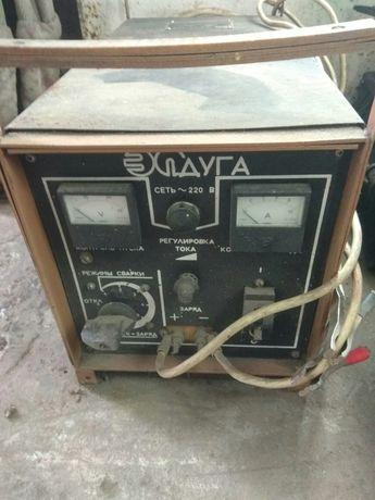 Зарядное пусковое устройство электросварка Дуга УЗПС-П-12-10 220 В