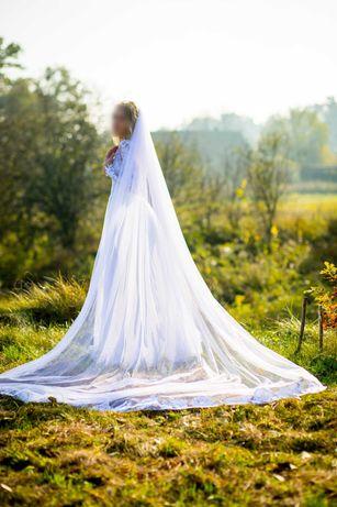 Suknia ślubna rozmiar 36 + 2 welony