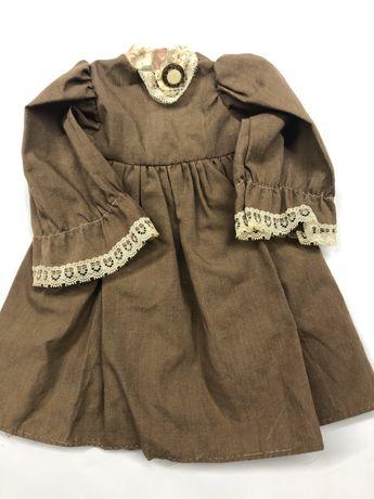 Платье одежда на старинную куклу