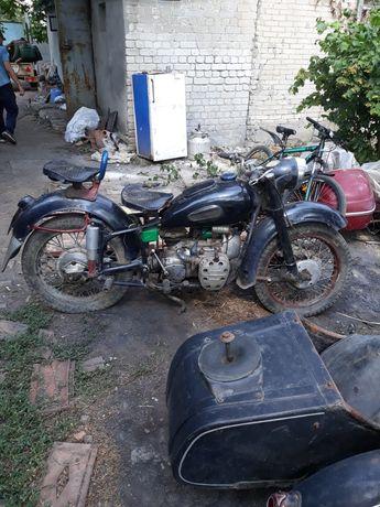 Мотоцикл к-750 раритет