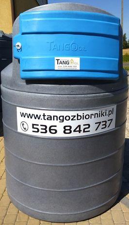 Zbiornik 1500 l dwupłaszczowy Tango Oil