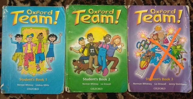 Oxford Team 1, 2, 3.