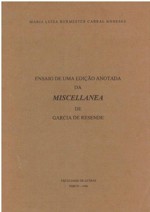 3243 Ensaio de uma edição anotada da Miscellanea de Garcia de Resende Cidade Da Maia - imagem 1