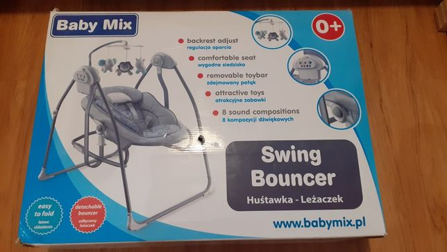 Sprzedam huśtawka-leżaczek baby mix BY 020