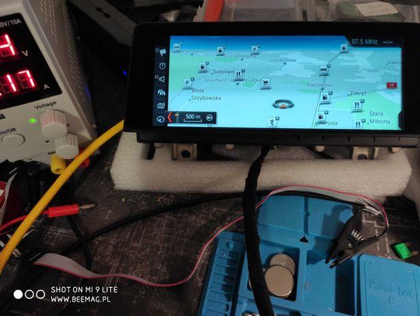 BMW naprawa Nawigacji NBT EVO wymiana dysku HDD SSD kody FSC serwis