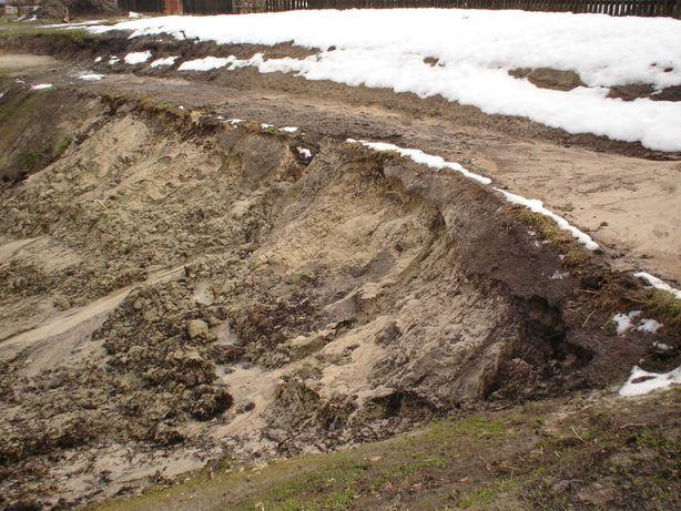 Udostępnię teren pod wywóz ziemi z wykopów, piasku, gliny bez gruzu